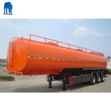 60, 000 Liter Tri Wellen-Kraftstoff-Transport-Tanker-Schlussteil-
