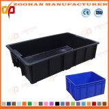 Boîte à panier de conteneurs de transport de légumes pliables en plastique (ZHtb26)