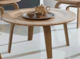 Table basse se pliante ronde de contre-plaqué de précipitation