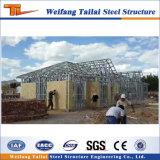 Com a norma ISO9001 GB Estrutura de Aço Construção Casa prefabricadas