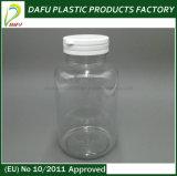 bouteille en plastique de médecine d'espace libre de l'animal familier 300ml