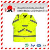 Green High Vis Traffic Safety Vest (colete-6)