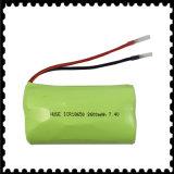 Nachladbares Lithium-Ion/Plastik-Batterie für LED beleuchtet (18650 2700mAh)