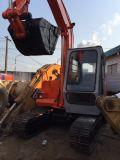 Mini máquina escavadora usada de Hitachi Ex60-1 para a venda