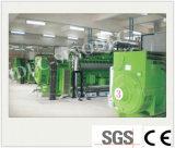 Ce e ISO aprobado Energía Verde grupo electrógeno de biomasa (100KW).