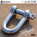 Dの形のステンレス鋼の手錠