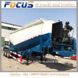 La Chine 45cbm 3essieux de la poudre de ciment en vrac de réservoir de transport semi-remorque