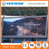 固定フルカラーP6 LED表示屋外広告ビデオスクリーン
