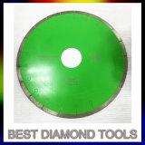 冷たい出版物がターボダイヤモンドの切断を焼結させた4つのインチ105X7X20mmは鋸歯を