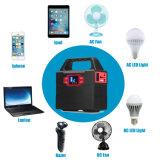 コンパクトな100wh/40800mAh携帯用発電機の電気太陽交流電力インバーター