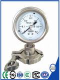 100mm de Manometer van de Maat van de Druk van het Roestvrij staal met Flens