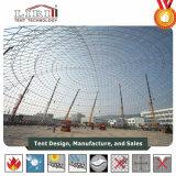 60 mètres de diamètre Structure grand dôme géodésique tente