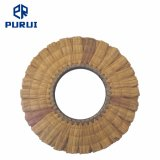 Jaune roue de polissage de polissage de sisal aérien pour le métal