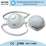 Mascherina approvata di polvere di Respirato del cono Pm2.5 di Niosh o del Ce