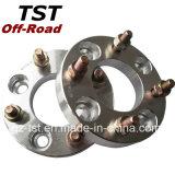 1pulgada de grosor 4-114.3 separador de ruedas de aluminio