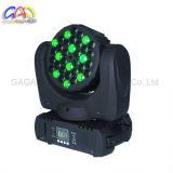 Luz principal móvil de la viga del color de la viruta 36X3w LED de Epistar LED con el CREE LED