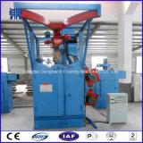 Ausgezeichneter Qualitätsroheisentrundle-entzunderndes Oberflächengerät/hakenförmige Granaliengebläse-Maschine