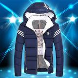 Boy Mens algodón cálido invierno Ocio acolchada Chaqueta Top