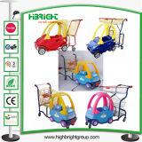 Het Boodschappenwagentje van de Kruidenierswinkel van het Karretje van de Trekkracht van de Hand van de Kinderen van de Jonge geitjes van de baby