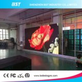 Pantalla LED transparente P10 en la pared de vidrio Pantalla de LED
