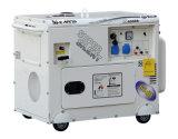 5kw 휴대용 최고 침묵하는 휘발유 가솔린 발전기 (GG6500SE)