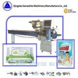 Servo Swsf-450 de alta velocidade que conduz a máquina de enchimento de formação automática da selagem