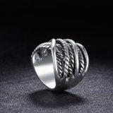 Juwelen van de Ring van de Vinger van de Juwelen van het Platina van de manier de Goud Geplateerde
