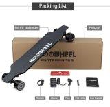 4 Ruedas Elektrisk Motoriseret Longboard Skateboard Med Fjernbetjening Motor cubo doble