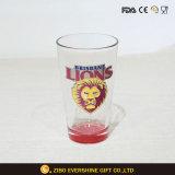kundenspezifisches Liter-Glascup des Bier-16oz mit Drucken-Kästen