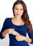 Беременности и родам Lace-Insert/кормящих верхней части