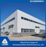 Estructura de acero 2017 Haz de bastidor con materiales de construcción para el taller