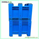 solido di plastica 1000kgs che impila il contenitore industriale del pallet dell'HDPE