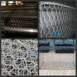 Het Netwerk van de Draad van de Kooi van de Steen van Gabion van Hexgonal