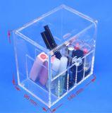 Renverser le cadre cosmétique transparent