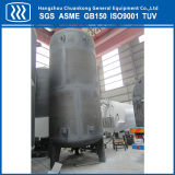 Lar vertical de Lin do Lox do tanque de armazenamento criogênico
