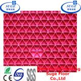 Pp.-materielle harte Plastiktischtennis-Bodenbelag-Innenfliesen
