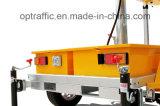 Трейлер Vms дорожного знака движения Optraffic солнечный приведенный в действие передвижной СИД