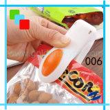 휴대용 소형 열 - 비닐 봉투 배터 전류 봉인자를 포장하는 밀봉 기계 전류 봉인자 물개 공구