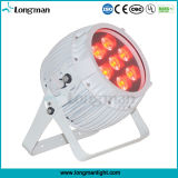 Outdoor Rgbawuv 6in1 High Power pile sans fil DMX LED PAR