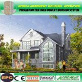 Camera nordamericana d'acciaio isolata della costruzione prefabbricata di stile dell'indicatore luminoso del bene immobile