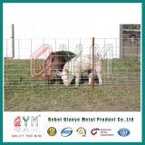 ヤギの塀パネルによって電流を通される鋼鉄動物フィールド塀の金属の農場の塀