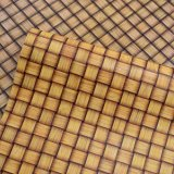 Retro Big Basket Weave Textures Synthetic PVC Sponge Bag Leather
