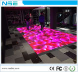 RGB 실내 임대 실행 영상 새로운 발광 다이오드 표시 댄스 플로워 마술 단계 P6.25 발광 다이오드 표시