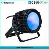 Lumens alta 100W LED RGBW piscina par de inundação pode acender