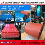 De de vooraf geverfte Gegalvaniseerde Staalplaat van de Rol van het Staal Met een laag bedekte /Colour/Fabrikant van de Rimpel PPGI /Ppcr/PPGL van China