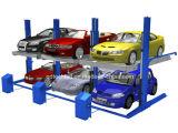 二重デッキのガレージの使用のための油圧2つのポスト自動車の駐車上昇