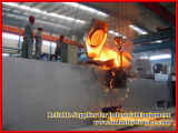 産業溶ける炉の油圧傾くオーブン