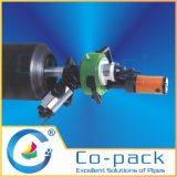 Sgs-Bescheinigungs-niedrige Abstand-Rohrleitung-Systems-abschrägenmaschine