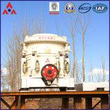 Trituradora hidráulica vendedora caliente del cono (serie del HP) para el machacamiento de piedra