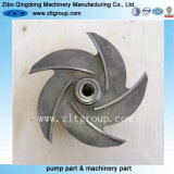 Stainless Steel Goulds 3196 pump Impeller by investment Casting